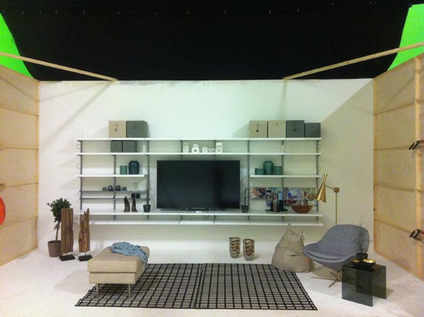 Livingroom set (3 x 10 m)