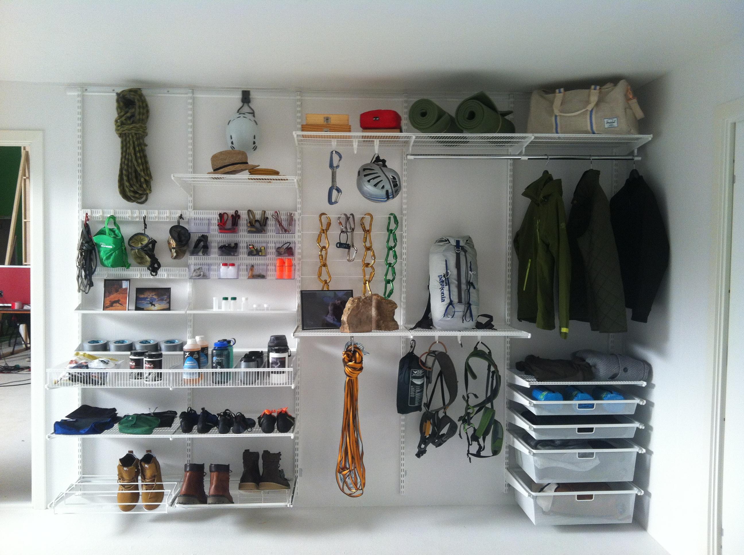Climbers storage